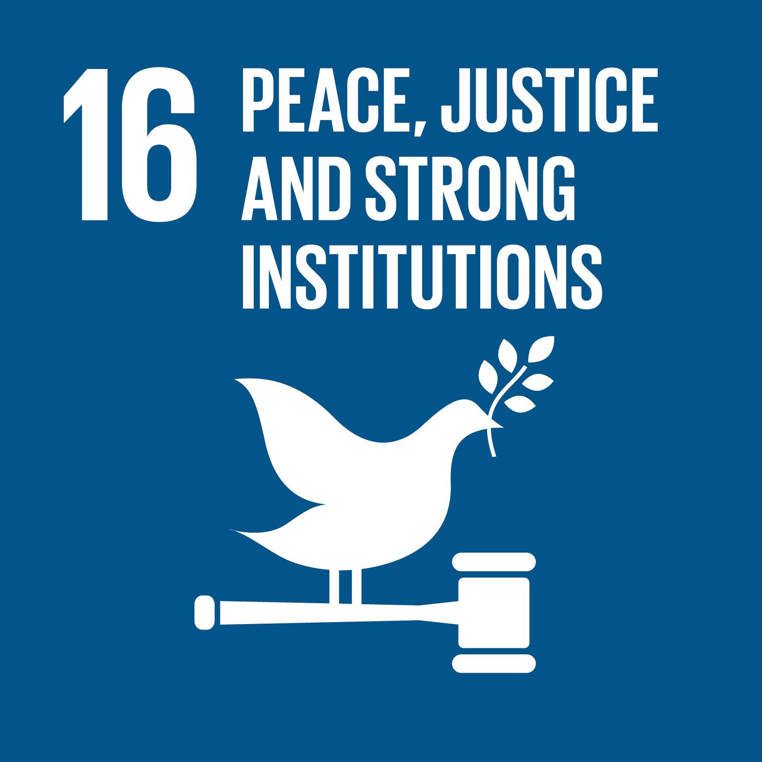 SDG, Vrede en Recht